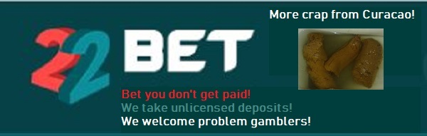 22bet is a scam casino to avoid!