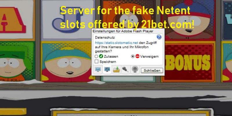 21Bet Fake Slots Alert
