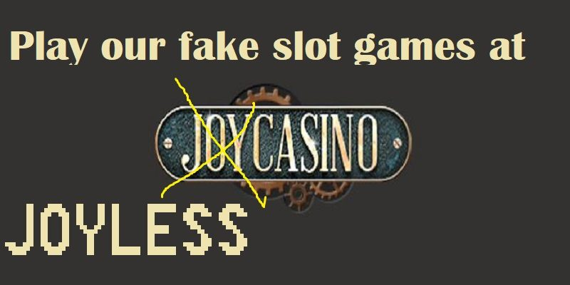 joycasino offers fake novomatic slots