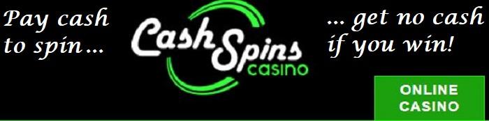 cashspins scam casino to avoid